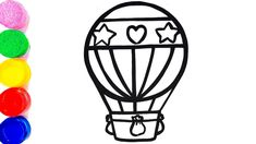 235x132 best hot air balloon drawings images hot air balloon, balloon