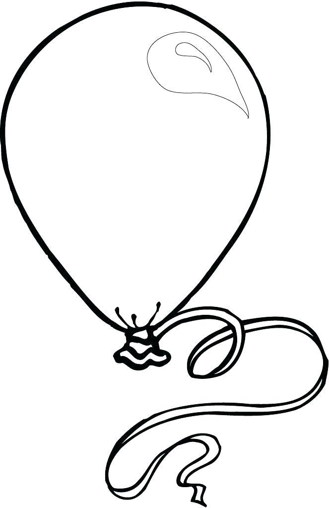 663x1023 Balloon Drawing Hot Air Balloon Drawing Balloon Drawing Clipart