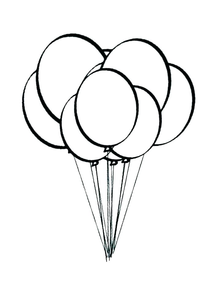 728x971 Balloons Coloring