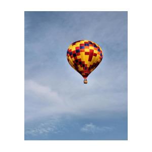 300x300 Hot Air Balloon Pencil Drawing Poster