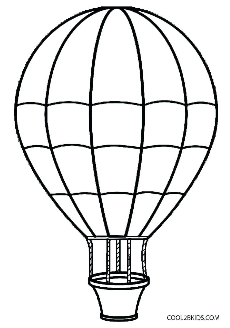 750x1071 Hot Air Balloon Printables