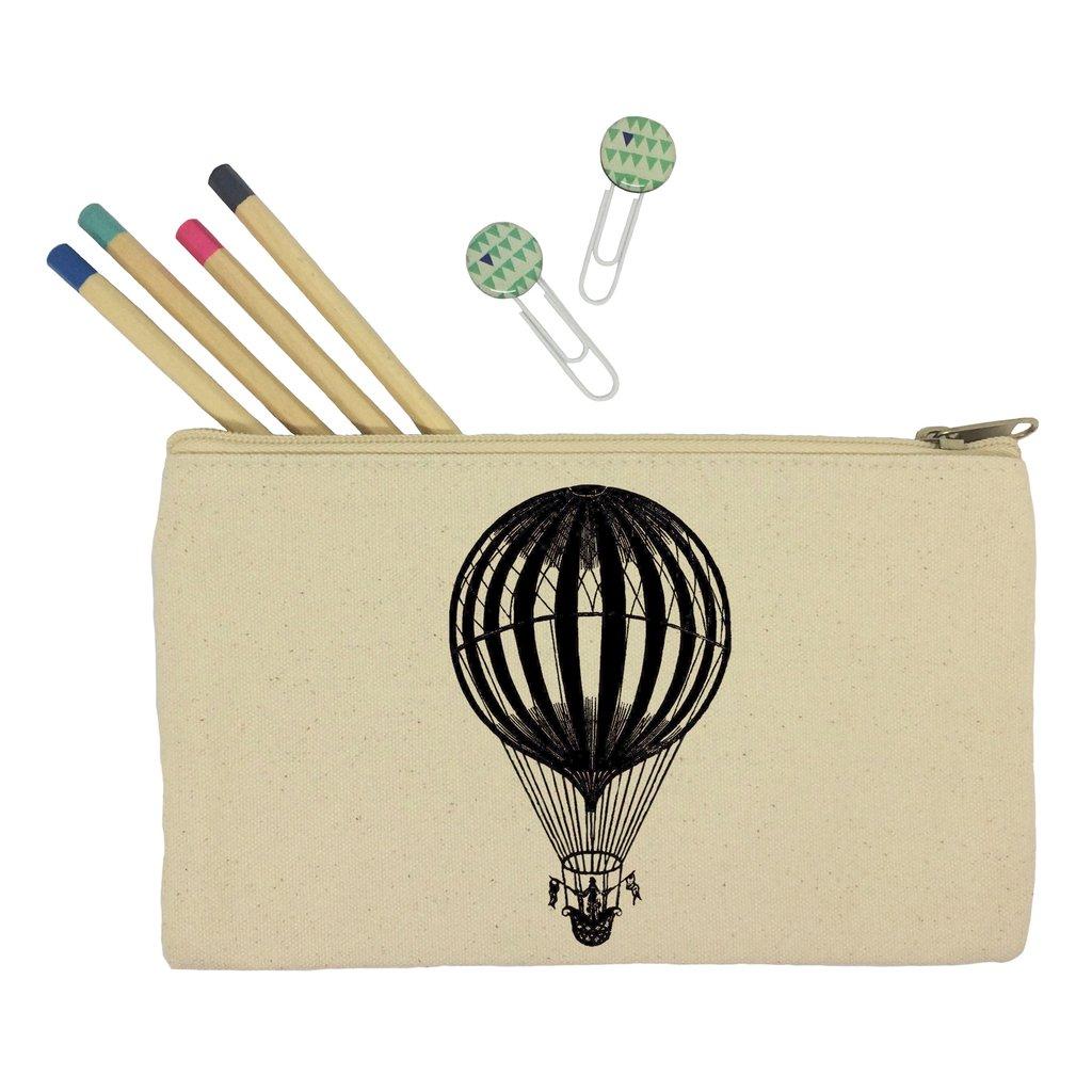 1024x1024 Hot Air Balloon Pencil Case Kitschattic