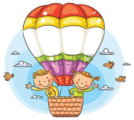 450x403 Afbeeldingsresultaat Voor Hot Air Balloon Drawing With Big Basket