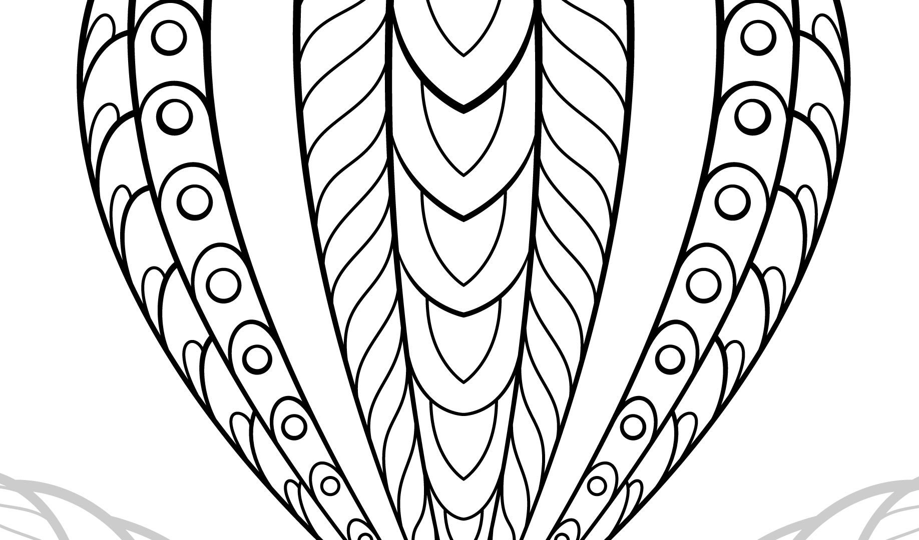 1836x1080 Marvelous Hot Airn Coloring Picture Pages For Adults