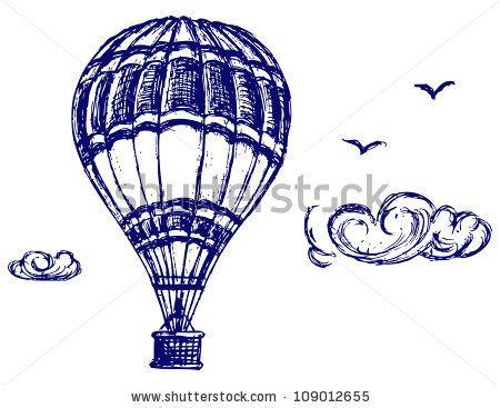 450x367 Balloon Animal Pencil Sketch