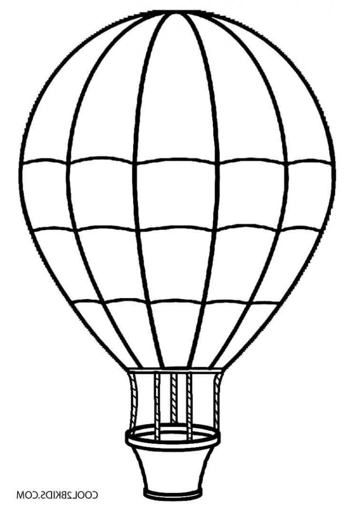 728x1040 Balloon Coloring Pages To Print Tags Drawing Easy Balloon