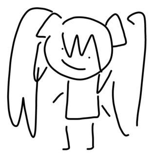 Hot Anime Girl Drawing