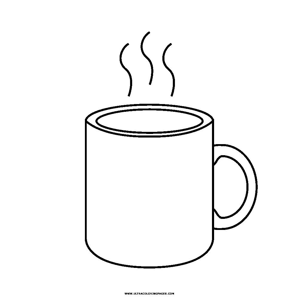 Hot Coffee Drawing
