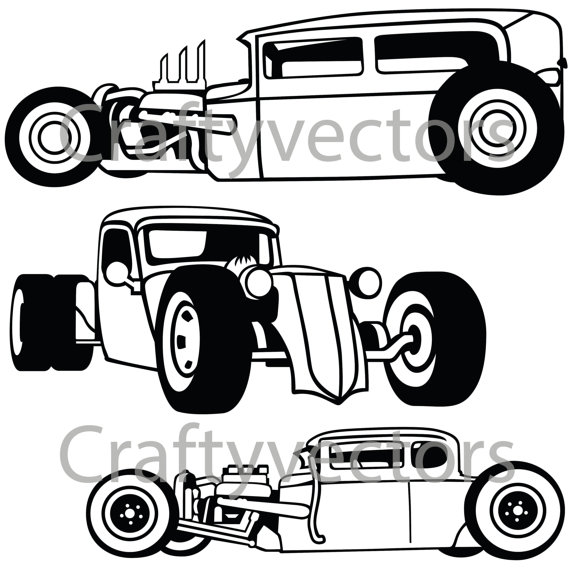 570x570 rat rod cars vector products rat rod cars, cars