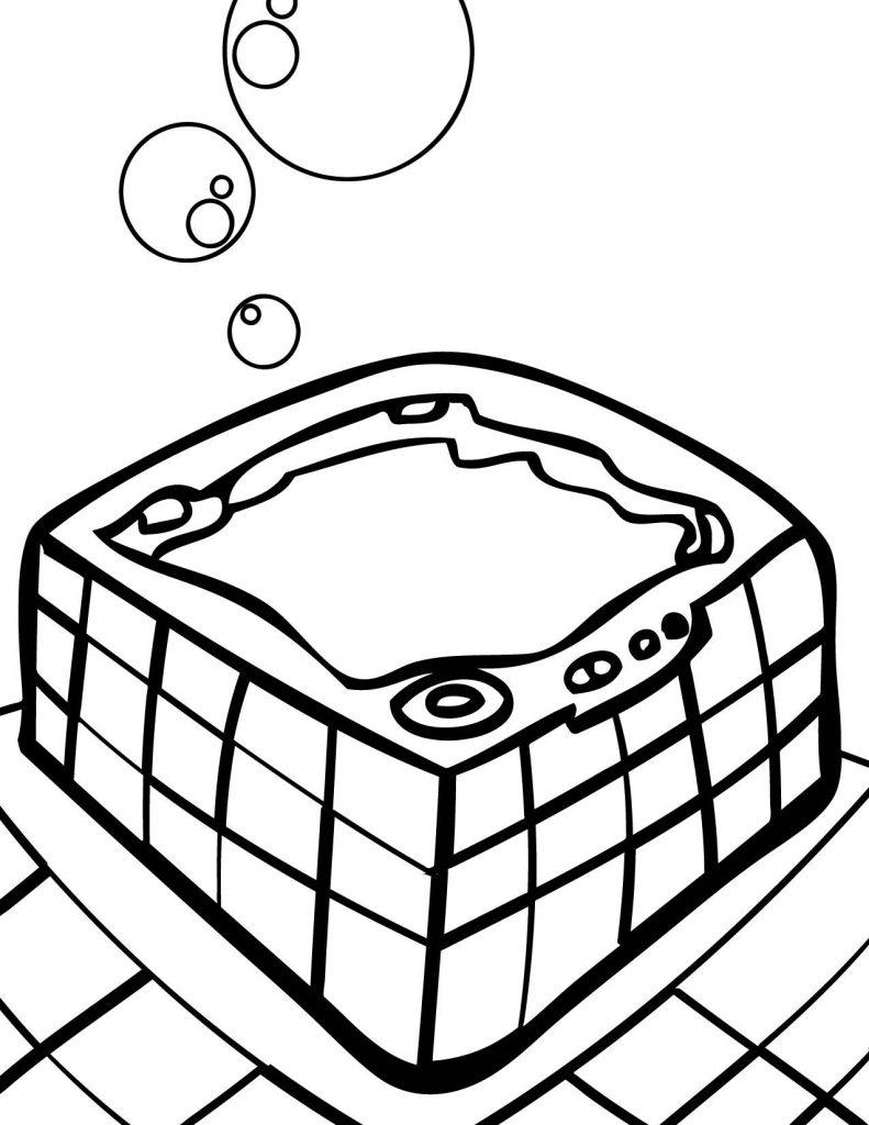 Hot Tub Drawing