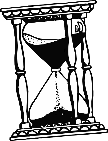 456x593 Hourglass Clip Art