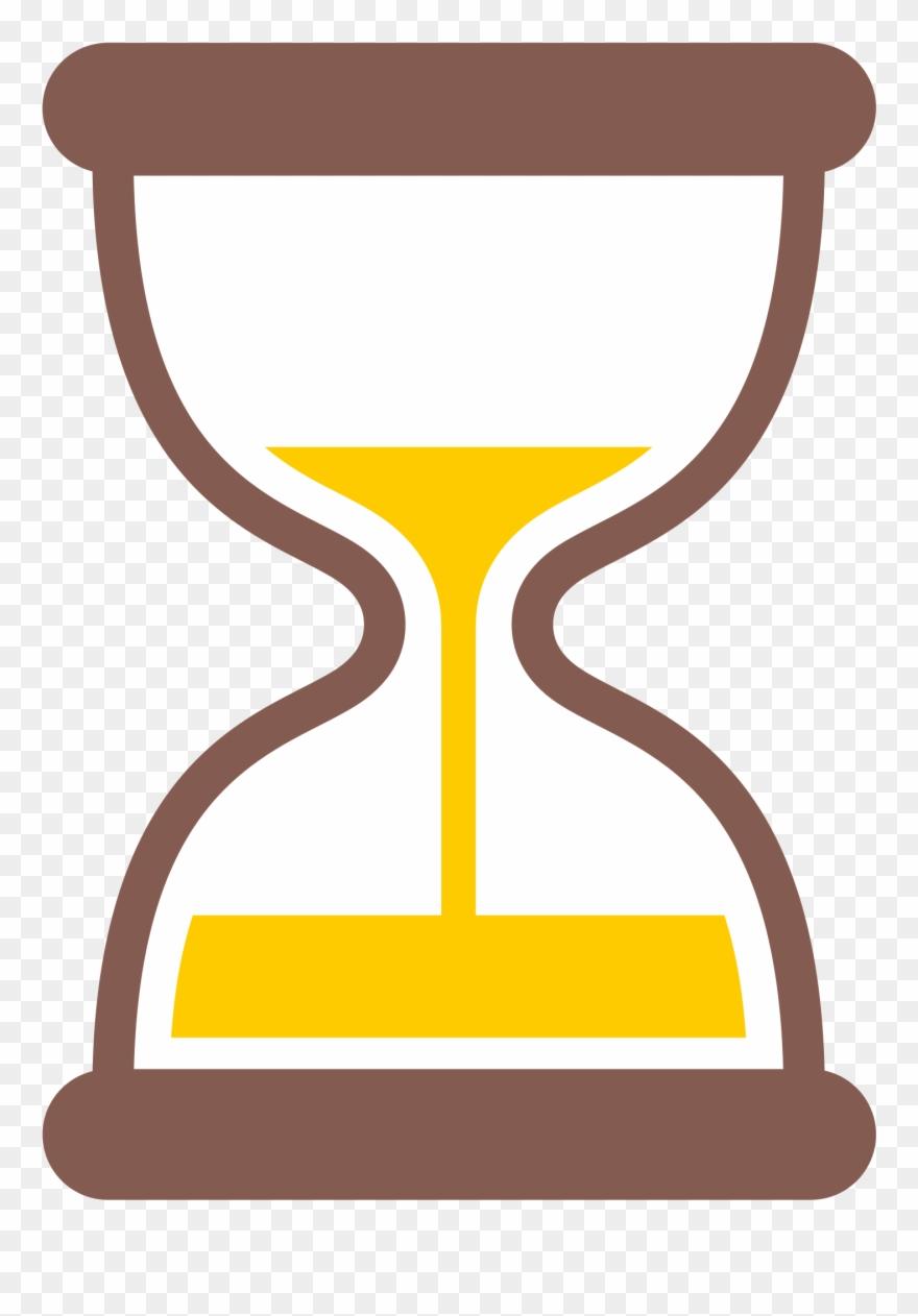 880x1262 Hourglass Clipart Yellow