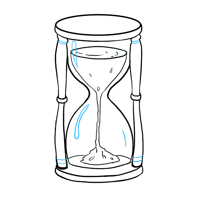 680x678 How To Draw An Hourglass Really Easy Drawing Tutorial