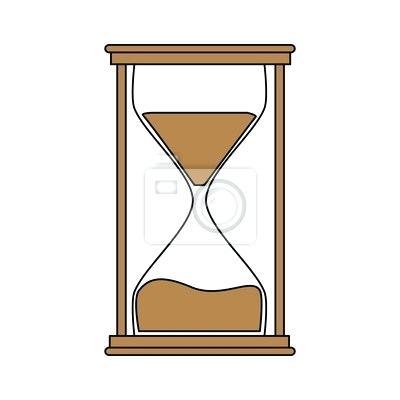 400x400 Hourglass Clock
