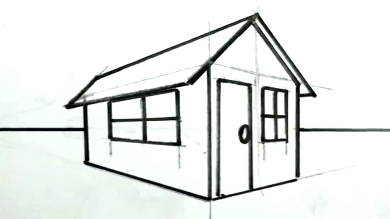 1280x720 drawing of a house drawing of a house how to draw a house for kids