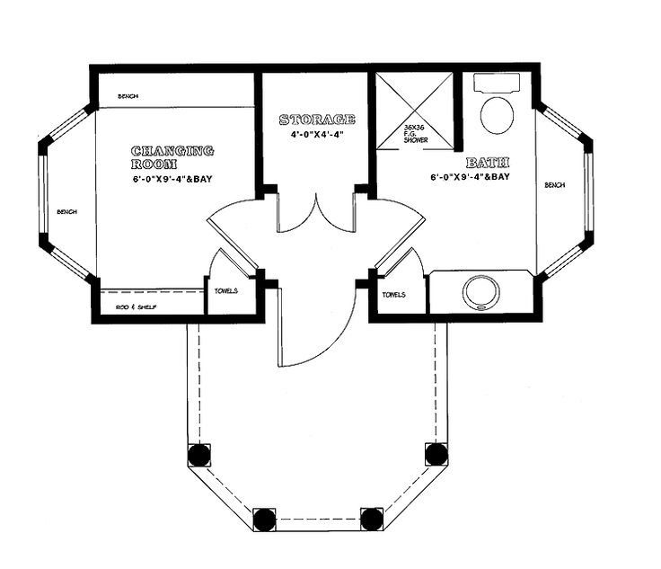 736x633 Bedroom Pool House Floor Plans Lovely Swimming Pool Drawing
