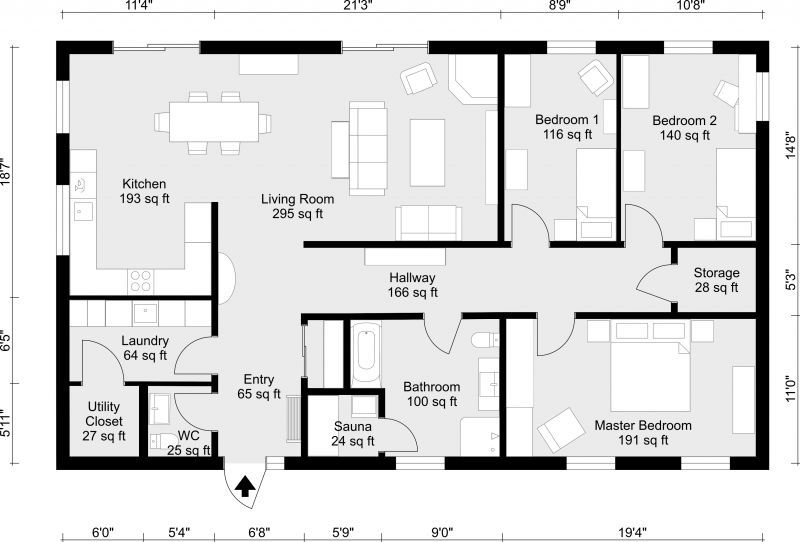 800x542 Architecture House Design Drawing Easy
