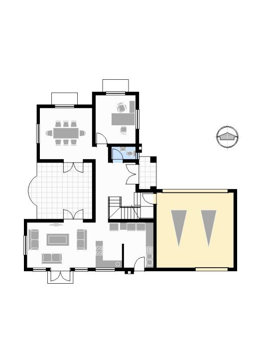 540x720 Concept Plans House Floor Plan Templates In Cad And Pdf Format