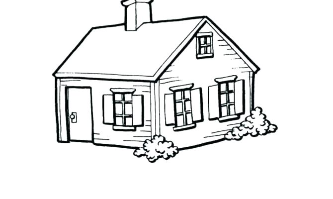 670x400 Drawing Of Small House Funny Small House