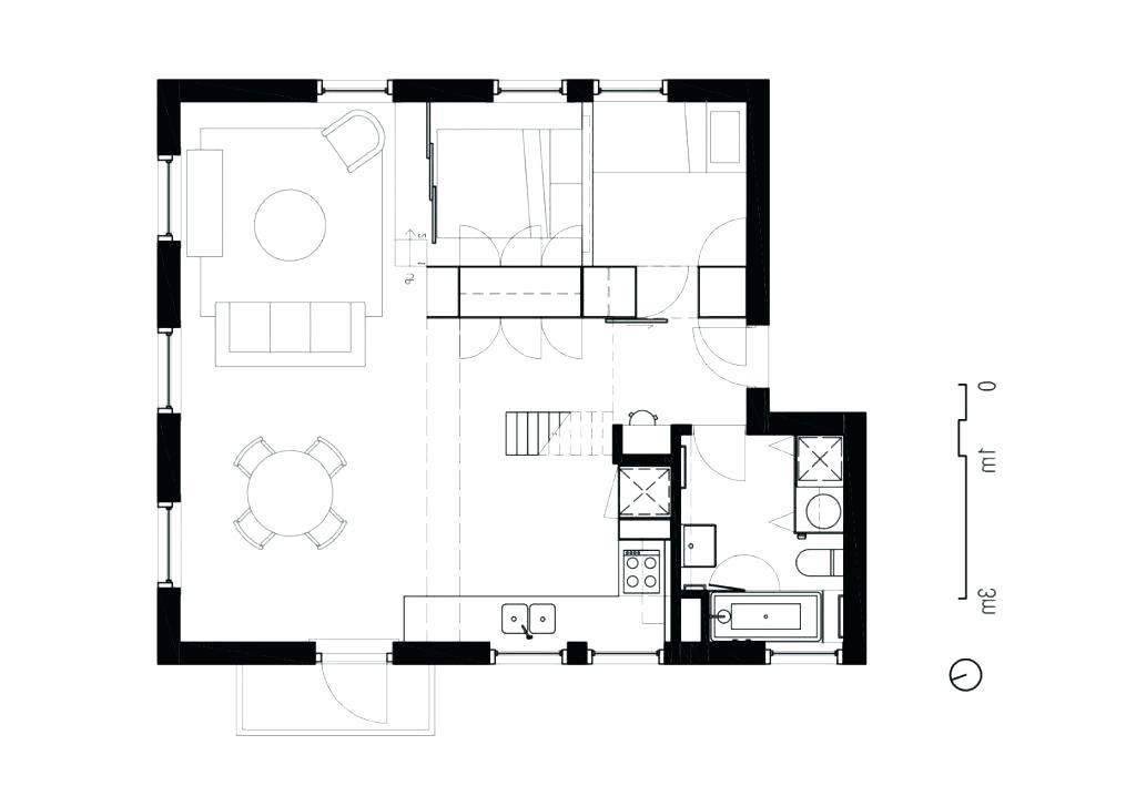 1024x718 Minimalist Floor Plan Minimalist House Design Floor Plan