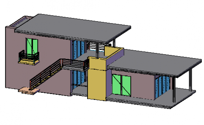650x400 Design Drawing Of Single Family House Design Drawing