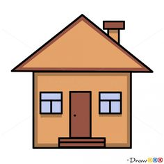 House Drawing Clipart