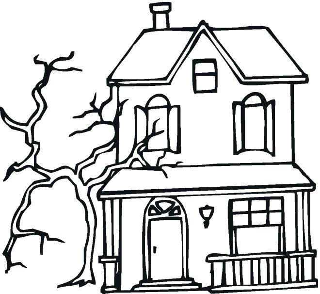 660x606 haunted house coloring haunted house coloring luxury stock lovely