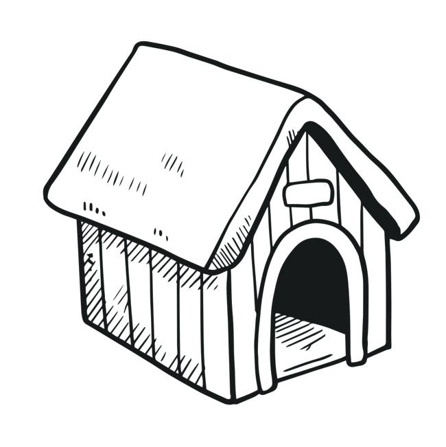 650x651 dog house drawing large size of how to draw a simple dog house