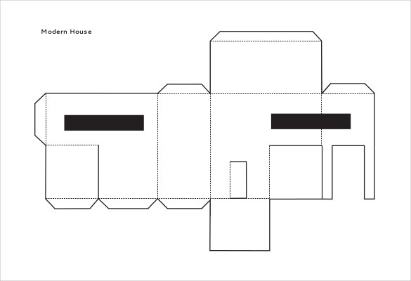 House Drawing Template