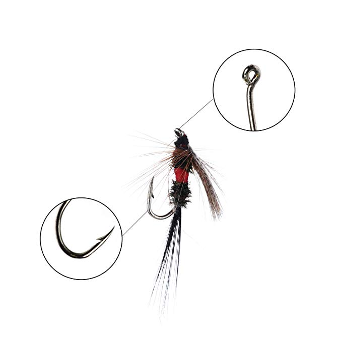 679x679 fiscan fly fishing flies kit, fly fishing lures