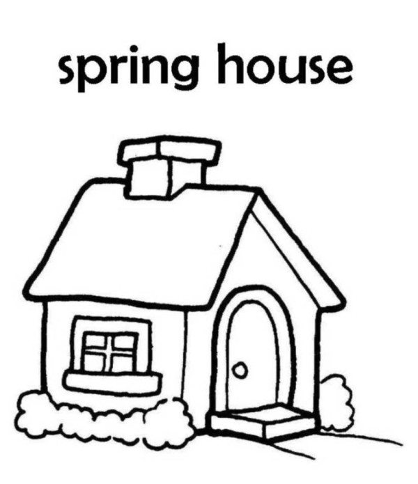 House For Kids Drawing | Free download best House For Kids ...