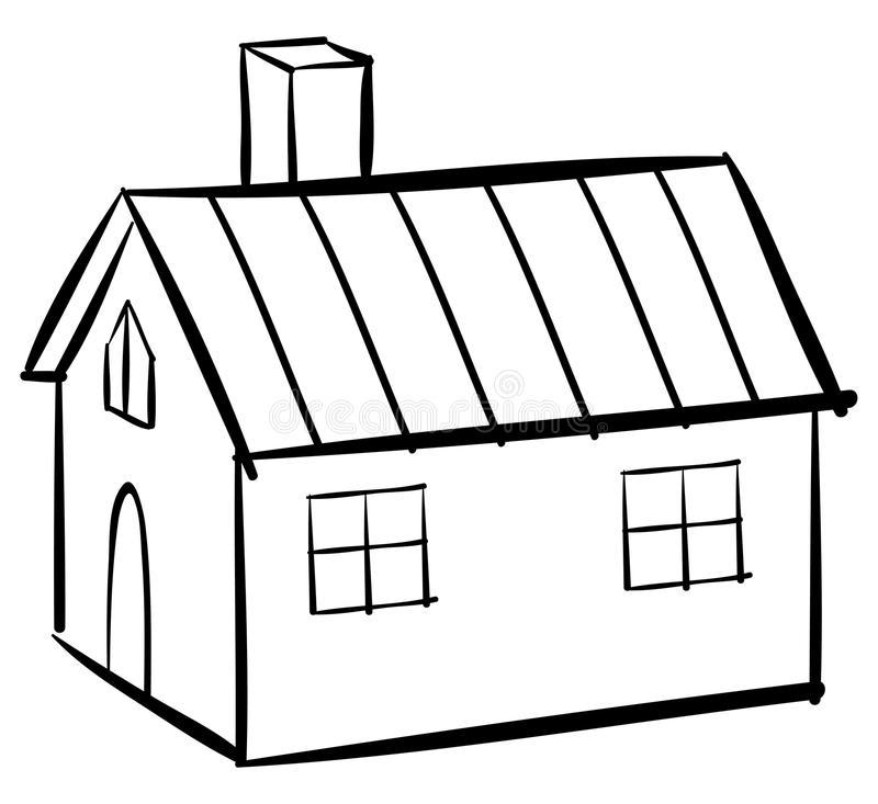 800x733 house outline house outline