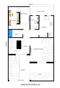 235x340 Best Drawing House Plans Images Cad Blocks, Architect Drawing