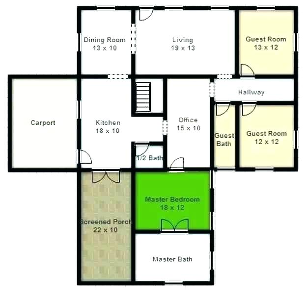 619x600 Draw Your Own House Floor Plans Free Draw Your Own House Plan Draw
