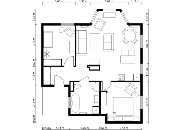 600x450 Drawing House Plans
