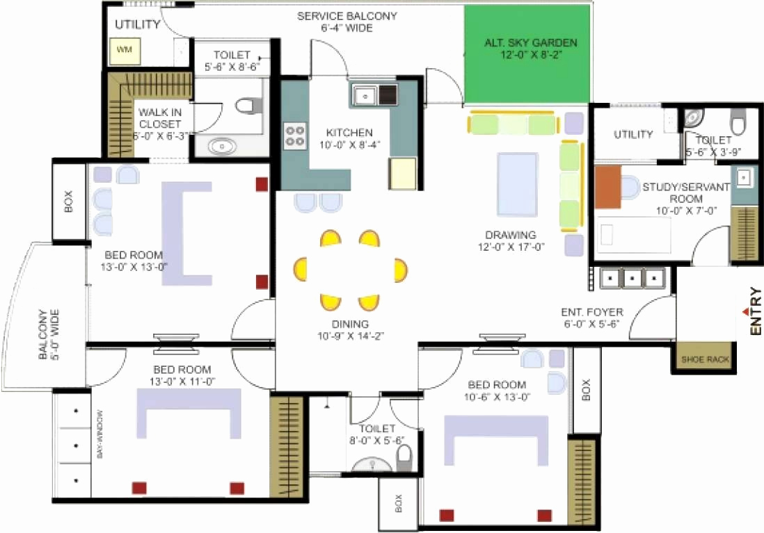1098x767 Easy Floor Plan Maker New Ranch House Plan Draw Your Floor Plan