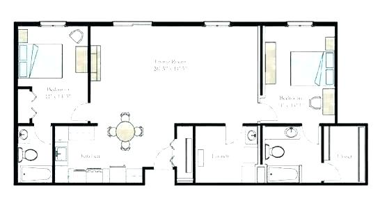 546x298 five bedroom flat plan classic six layout bedroom flat plan