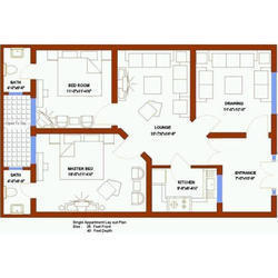 250x250 House Map Designing Services In India