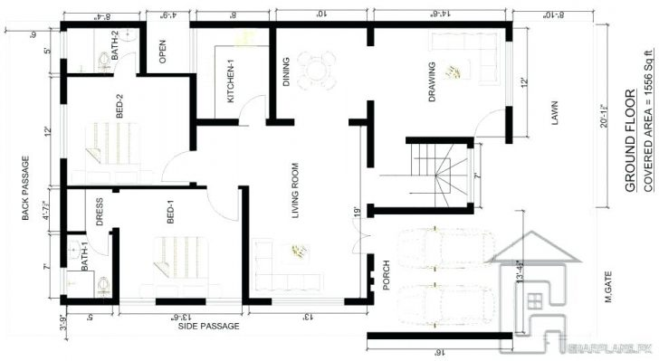 728x399 House Plan Drawings Marla Drawing Tool Build A Best