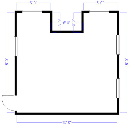 451x432 How To Measure And Draw A Floor Plan To Scale