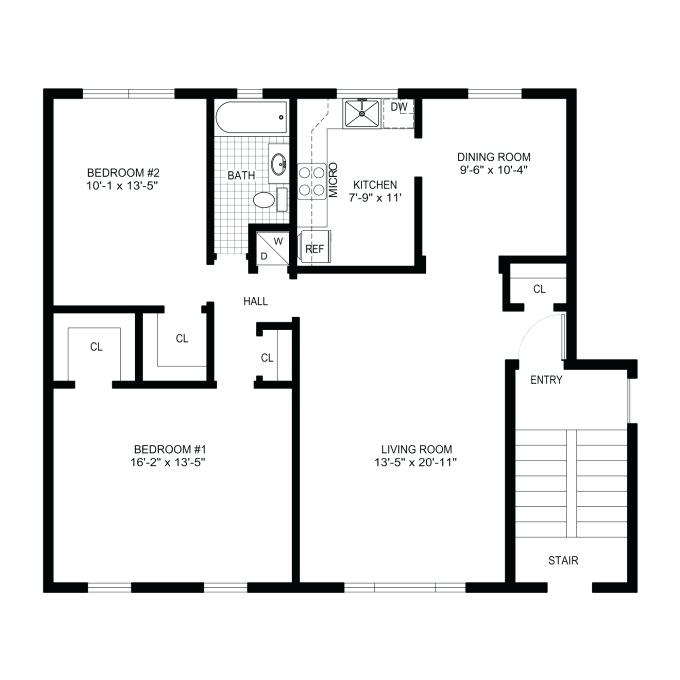 680x680 basic house plans basic house plan drawing new draw floor plans
