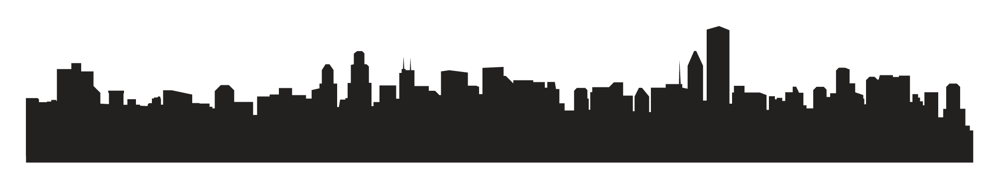 2000x377 Houston Skyline Outline Png Images In Collection