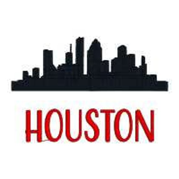 570x570 Huge Collection Of 'houston Skyline Silhouette' Download More