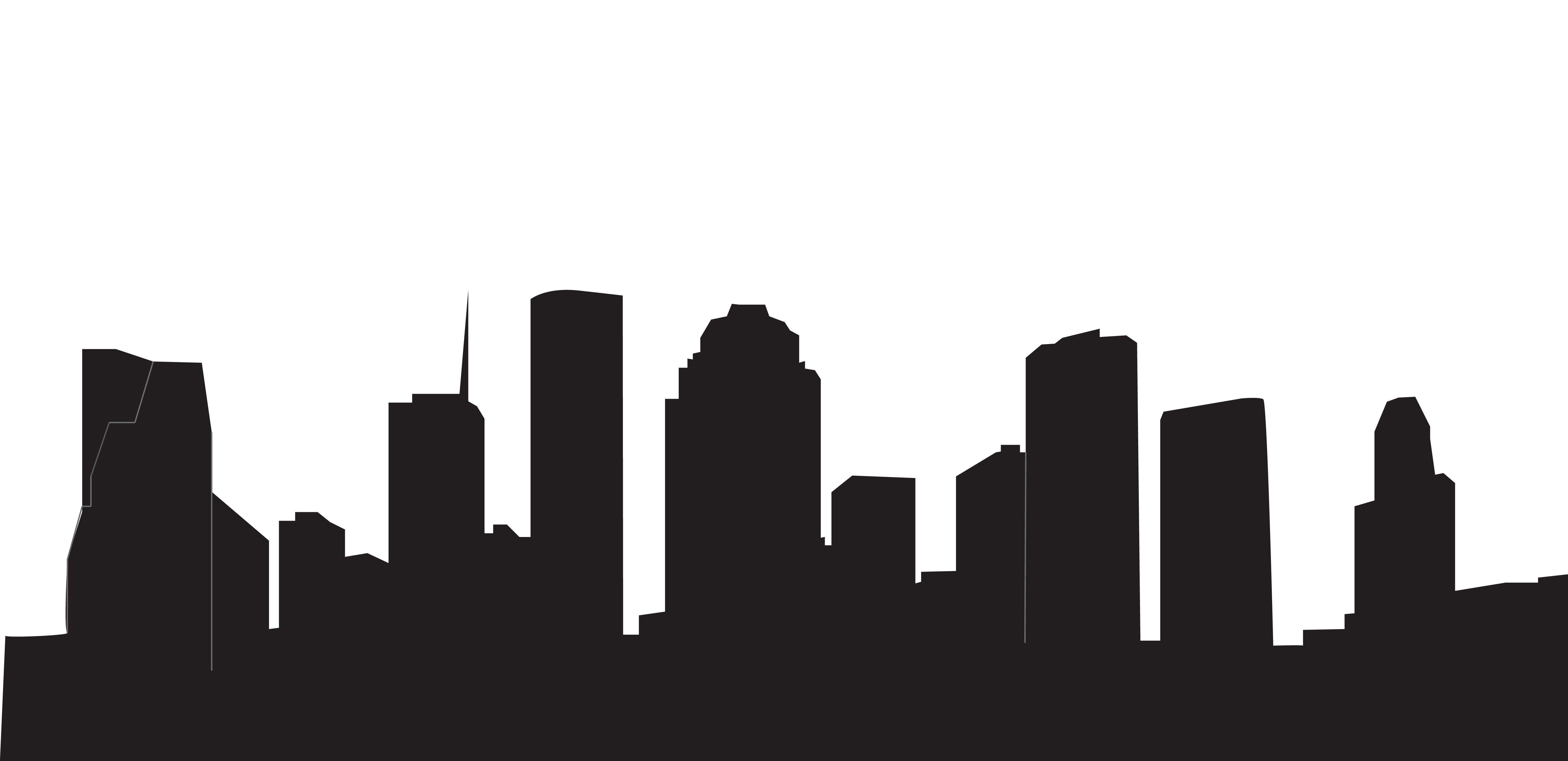 5246x2548 Houston Skyline Black And White New Year's Dance Houston