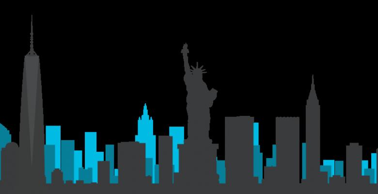 780x400 Manhattan Skyline Vector Black And White Download Huge Freebie