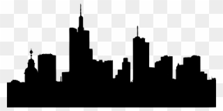 320x160 Clip Art Transparent Stock Skyline Silhouette At Getdrawings