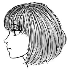 236x236 Cartoon Girl Face Side View T Faceheadhair Reference