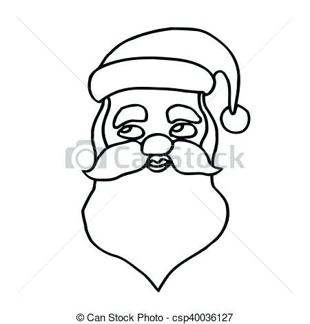 450x470 Drawing Of Santa Claus Face Face Draw Santa Claus Face Step