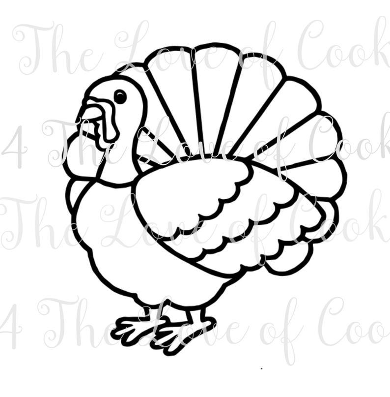 794x807 pyo turkey silk screen stencil halloween silk screen custom etsy