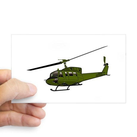 460x460 Uh Huey Helicopter Stickers